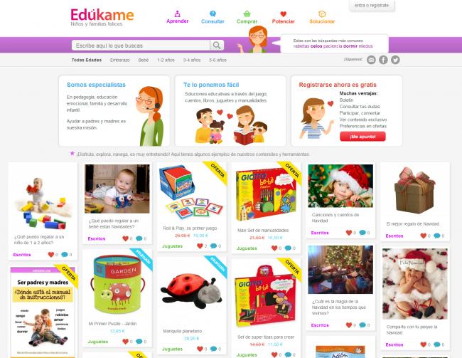 Edukame - Niños y familias felices